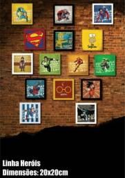 Quadros Decorativos Heróis
