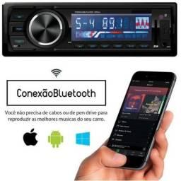 Promoção valor instalado Rádio Automotivo Bluetooth esse troca de pasta Usb Sd Card - Mp3