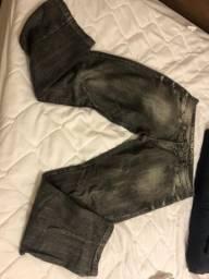 Calça jeans masculina 46