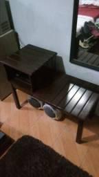 Mesa de telefone (madeira pura) moveis cimo pelotas