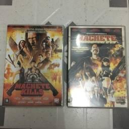 Dvds Machete e Machete Kills