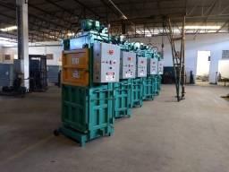 Prensa Enfardadeira Hidráulica para Reciclagem