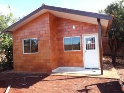 Casa pré moldada em bloco