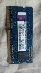 Memória RAM 2GB Kingston DDR3 1Rx8 PC3