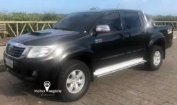 Toyota Hilux CD Srv D4-D 4x4 3.0 TDI Diesel Aut. Preta