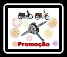 Virabrequim - biz100 - 98 até 2005 / c-100 dream<br><br>