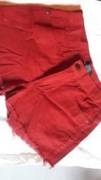 Short Jeans Vinho