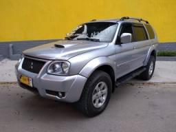 Pajero sport diesel 4x4 cambio manual couro carro em perfeito estado ac troca financio