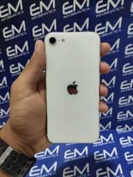 IPhone SE Modelo Novo 128Gb Branco -Seminovo - aceito seu iphone usado como entrada