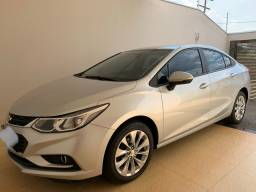 Chevrolet Cruze 1.4 LT turbo flex 2017 prata