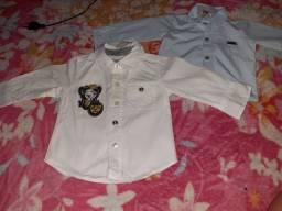 Kit com 2 camisas infantil