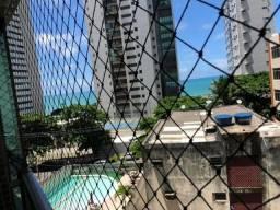 SIM| Apartamento com 04 quartos, 123m², R$ 800mil a 30m da praia em Boa Viagem