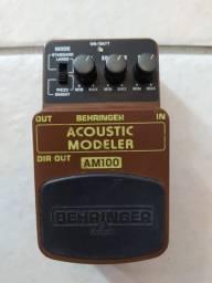 Pedal Behringer AM100 Acoustic Modeler