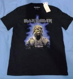 Título do anúncio: Camisa Iron Maiden