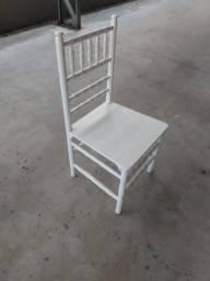 Cadeira Madeira Branca