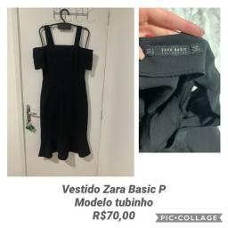 Vestido tubinho midi da Zara