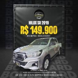 Título do anúncio: Hilux automatica 2019 boulevard automóveis.