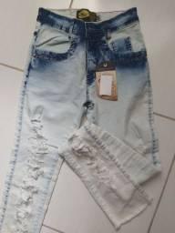 Calça jeans feminina nova