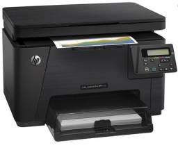 Título do anúncio: Impressora HP Color Laser Pro MFP M176 n