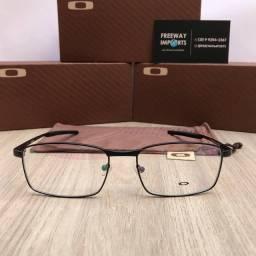 Óculos Oakley Fuller black armação de alumínio resistente