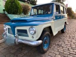 Raríssima Rural Willys 1961 único dono