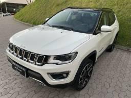 Jeep Compass  Limited Diesel Aut 2020 com Apenas  18800 km rodados. Único Dono