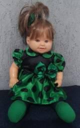 Título do anúncio: boneca de borracha c/corpo de pano *