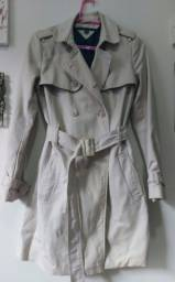 Título do anúncio: Trench coat Tommy Hilfiger tam XXS (veste P/M)