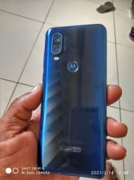 Vende-se Celular Motorola one vizio de 128gb