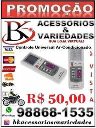 Controle Remoto P/ Ar Condicionado Universal Le-7430 (Loja BK Variedades).