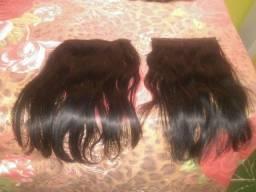 Título do anúncio: Vendo 5 telas de cabelo humano 45 cm juntas ou separadas