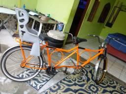 Título do anúncio: Bicicleta dupla