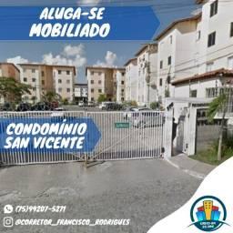 Condomínio San Vicente-Todo Mobiliado-Vila Olímpia-Feira de Santana-Ba.