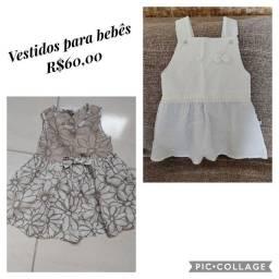 Vendo vestido para bebê