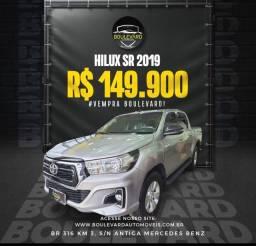 Título do anúncio: ® Mega Oferta Hilux Sr 2019 valor 149.900 aproveite aqui na Boulevard Automóveis!
