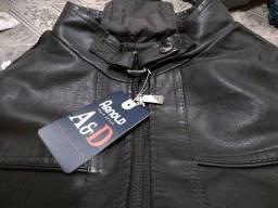 Jaqueta de couro legítimo Arnold Italy style
