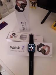 Título do anúncio: Smartwatch IWO W37 preto