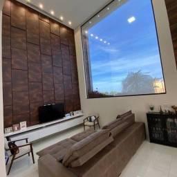 Casa de condomínio para venda tem 208 metros quadrados com 4 quartos