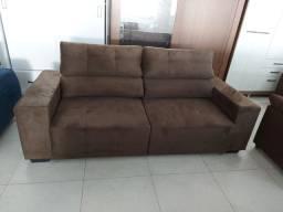 Sofá retrátil reclinável novo