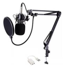 Kit Microfone Condensador BM 800