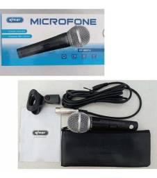 Microfone Profissional Com Fio