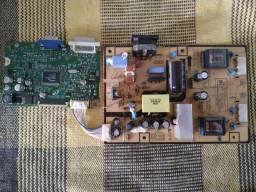 Placa Fonte & Principal Monitor Samsung