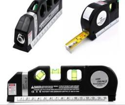 Título do anúncio: Trena Metro Nível 3 Linhas Laser Régua Pro 3 Profissional