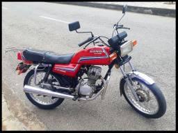 Título do anúncio: Honda CG/125 - 1986 - Incrivelmente Original! R$ 7.500 - (31) 9. */Whatsapp