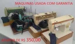Maquinas domestica (usada) com garantia a partir de R$ 350,00