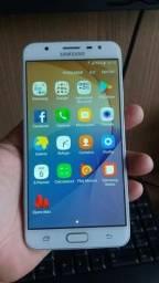 Samsung j7 prime em perfeito estado funcionando td ok