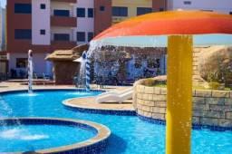 Flat c/ 3 quartos p/ 8 pessoas em Caldas Novas.Golden Dolphin c/ parque aquático 24 horas