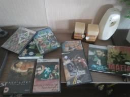 Dvd Filmes musica e jogos