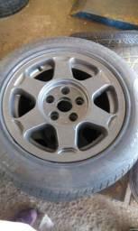 Rodas esportivas aro 15 com pneus
