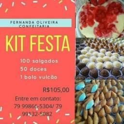 Kit festa por apenas 105,00 reais!!